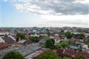 Uitzicht op Yogyakarta